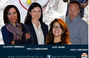 Il gruppo consiliare del Movimento5Stelle si associa alla proposta di intitolare l'auditorium San Nicola a Stella Castiglione
