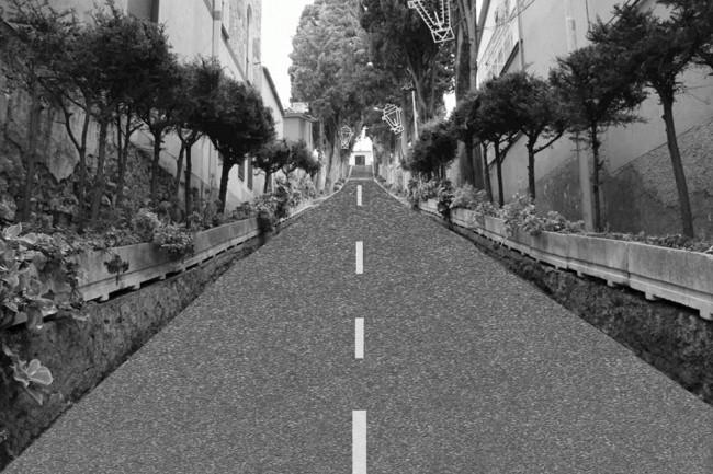 Il Calvario asfaltato