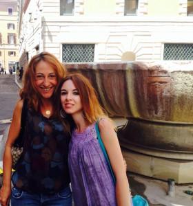 Rosalba Cimino e la Portavoce al Senato Paola Taverna  –  Fantastico incontro a 5 Stelle a Roma